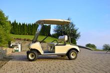 Golf Cart Parked