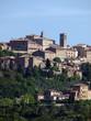 Panoramic View Of Montepulciano ,Tuscany, Italy.