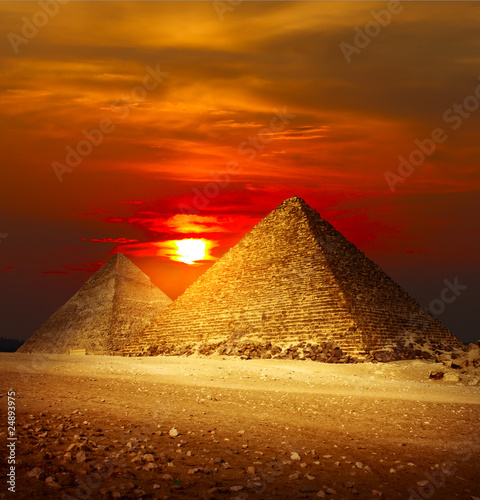 Giza valley