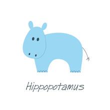 Little Blue Hippo