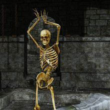 Skeleton In The Dungeon