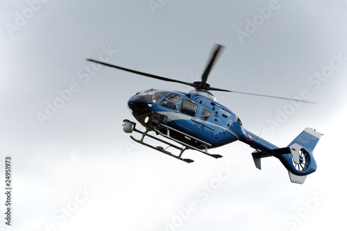 Canvas Prints Helicopter Police helicopter