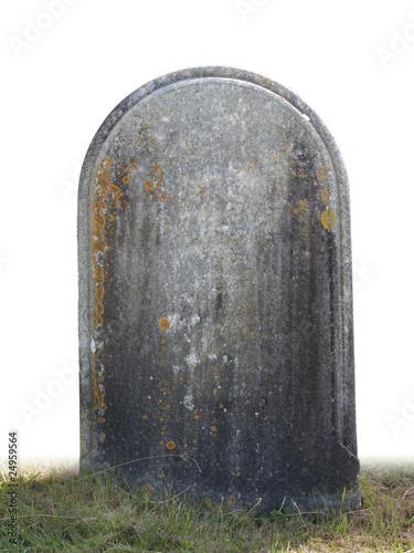 Foto single grave stone