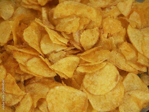 Fototapeta chipsy paprykowe