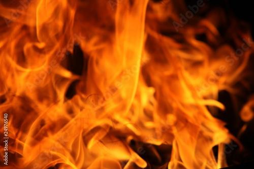 Fotobehang Vuur Flammen