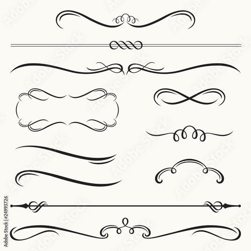 Obraz Decorative Borders and Frames - fototapety do salonu