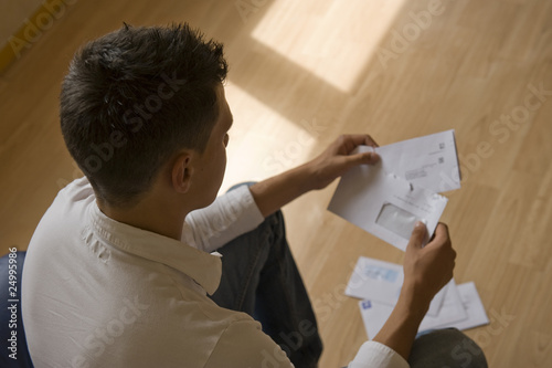Photo Ouvrir le courrier