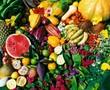 Obst, Zitrusfrüchte, Gemüse, Vitamine