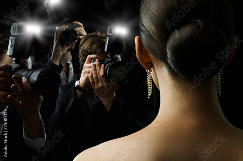 Fotografía  paparazzi