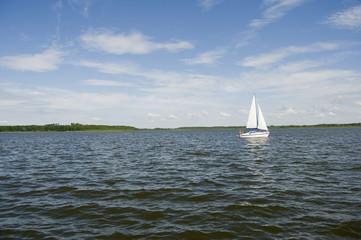 Fototapeta Mazury jezioro