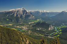 Cascade Mountain & Banff