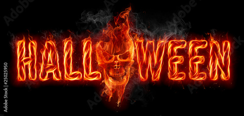 Recess Fitting Flame Halloween