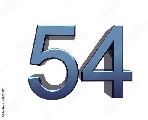 Fotografia  Zahl 54