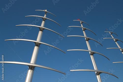 Fotografie, Obraz Mainmasts In Carbon Fiber