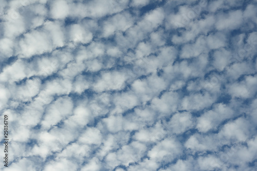 Photo Altocumulus clouds