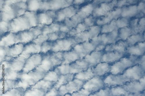 Photo Altocumulus clouds