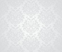 Seamless Retro Wallpaper Patte...