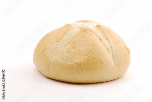 Obraz na plátne Round sourdough bread