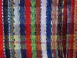 Colour textile stripes