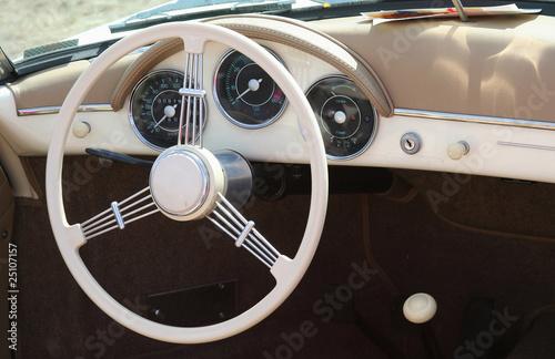 Photo  Porsche 356 volant