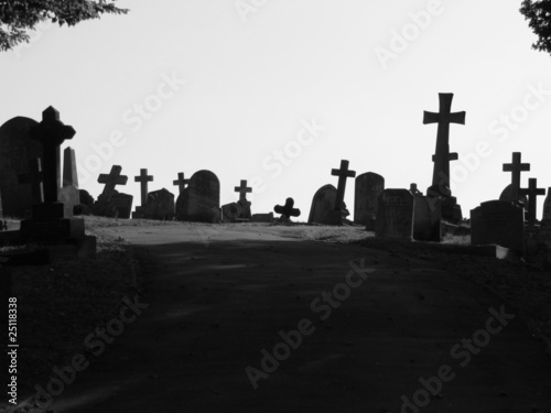 Photo Crossroad of crosses