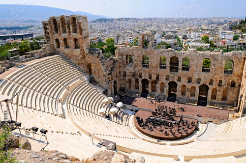 Papiers peints Athenes The Odeon of Herodes Atticus - theatre in Athens, Greece