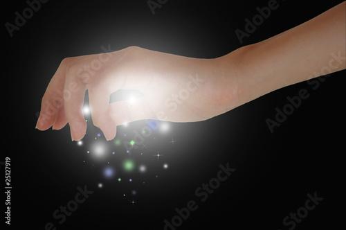 Photo  Magic Hand