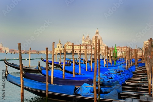 Keuken foto achterwand Venetie Les gondoles de Venise