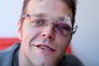 canvas print picture - Jugendlicher/Mann mit blauem Auge/Verletzung