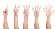 1 2 3 4 5 Finger