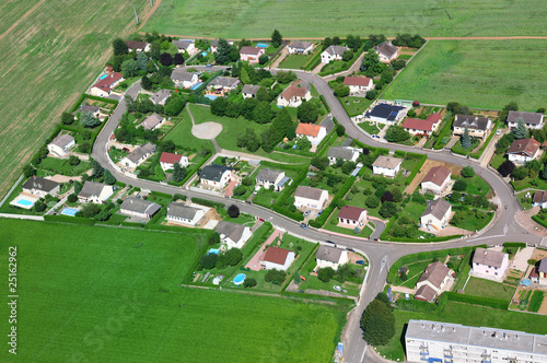 Fotografiet  vue aérienne