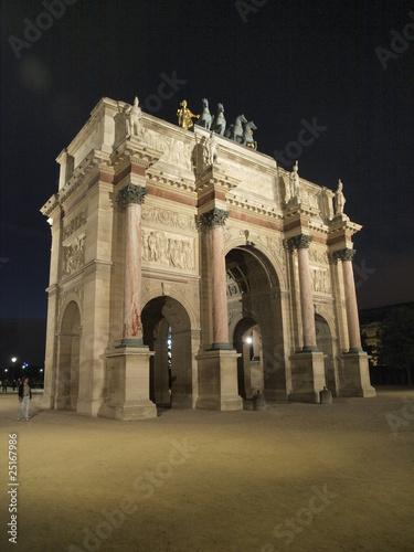 Fototapety, obrazy: Arco del Triunfo del Louvre en Paris