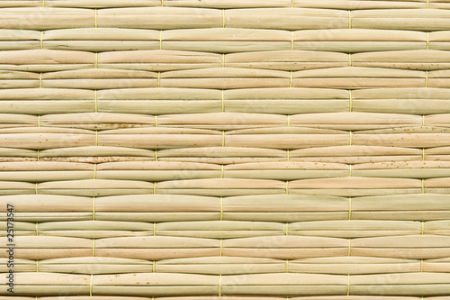 Weave pattern of reed mat фототапет