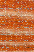 Large Section Of Colorful Vintage Brick Wall Exterior Background