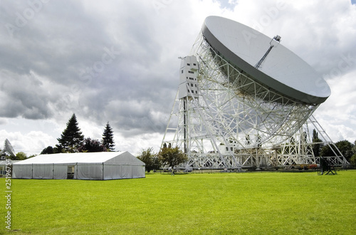 Vászonkép Jodrell Bank radio telescope dish