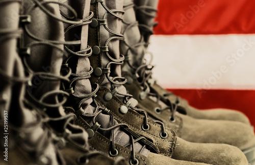 Fotografía  Combat Boots