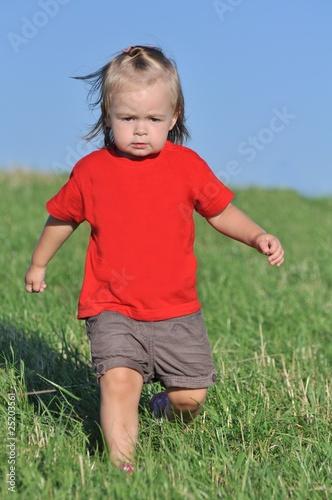 Photographie  bébé et nature