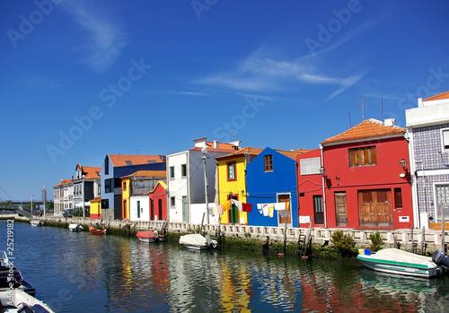 Fotografie, Obraz  Landscape of Aveiro, Portugal.