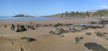 Bantham Beach Across To Burgh ...