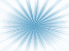 White And Blue Radial Background
