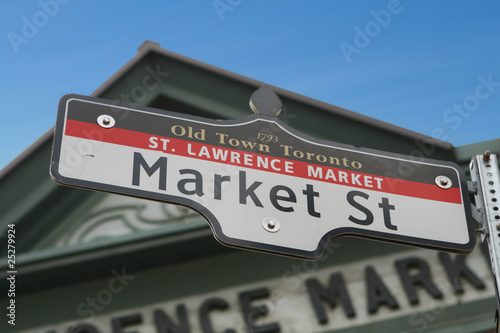 Toronto Landmark - Old Town Toronto Poster