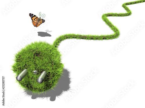 Fotografie, Obraz  Grüne Energie