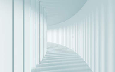 Naklejka Corridor