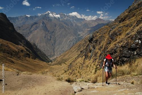 Photo Stands South America Country Chemin de l'inca du Machu Picchu