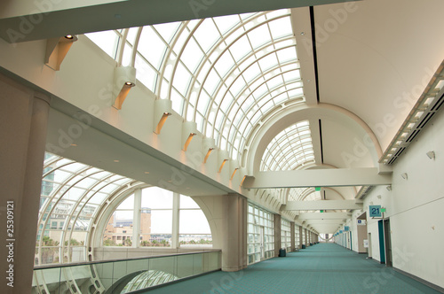 San Diego Convention Center Architectural Abstract Tablou Canvas