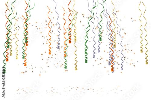 Obraz na plátně cotillons & confettis