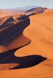 canvas print picture - Wüste Namib von oben