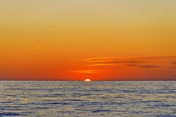 Obraz setting sun