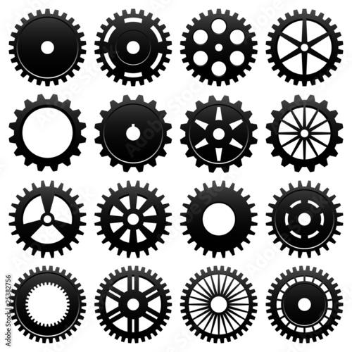 Photo  Machine Gear Wheel Cogwheel