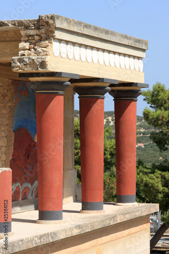 Foto op Canvas Zuid Afrika The ruins at Knossos